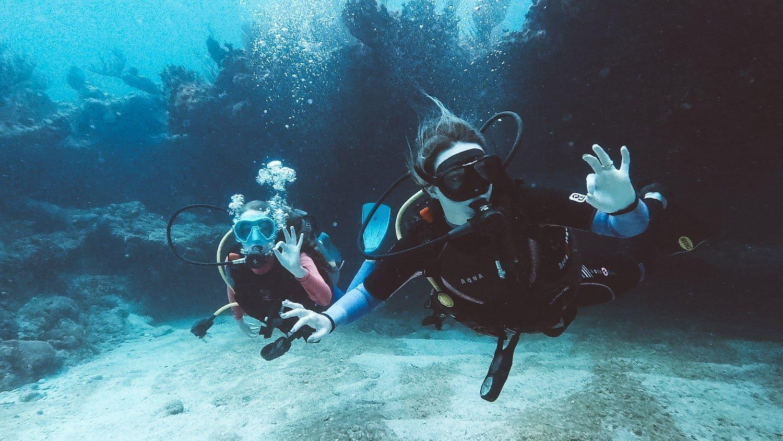 scuba diving in tulum mexico