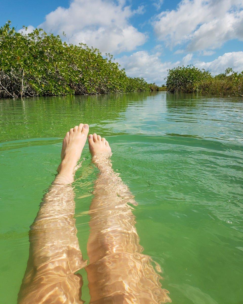 sian kaan lazy river float