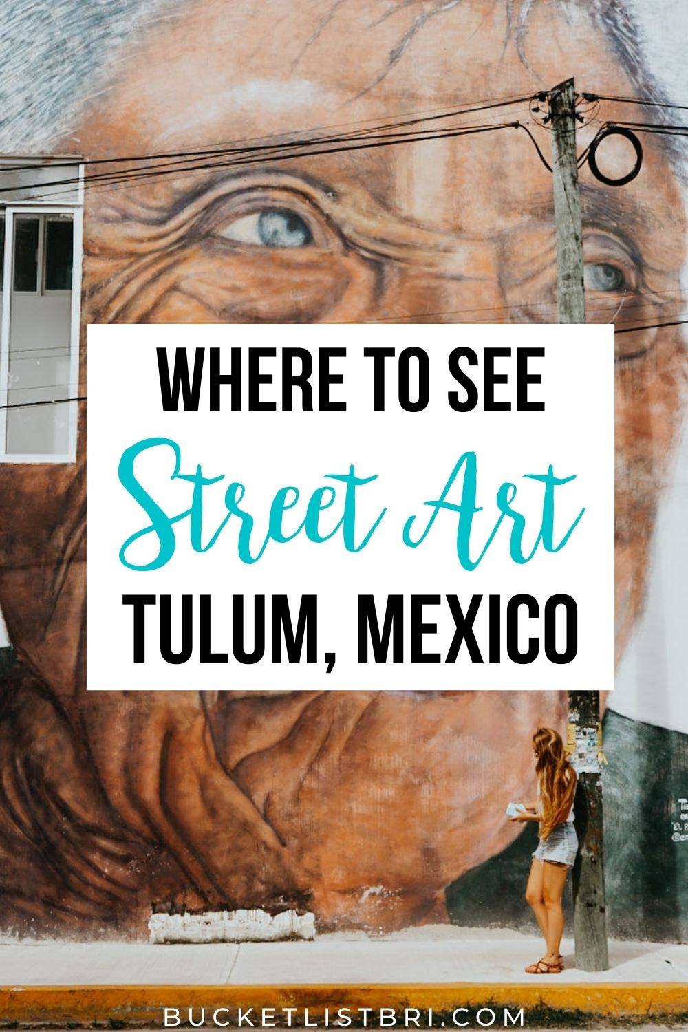 tulum street art pin