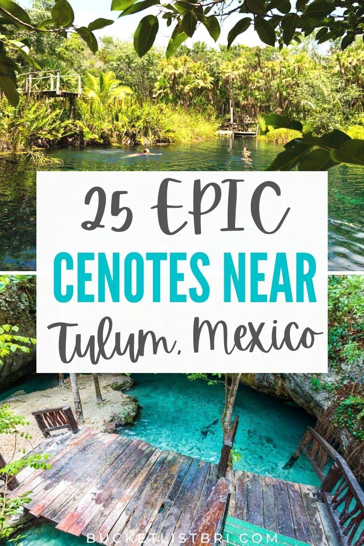 cenotes in tulum pin