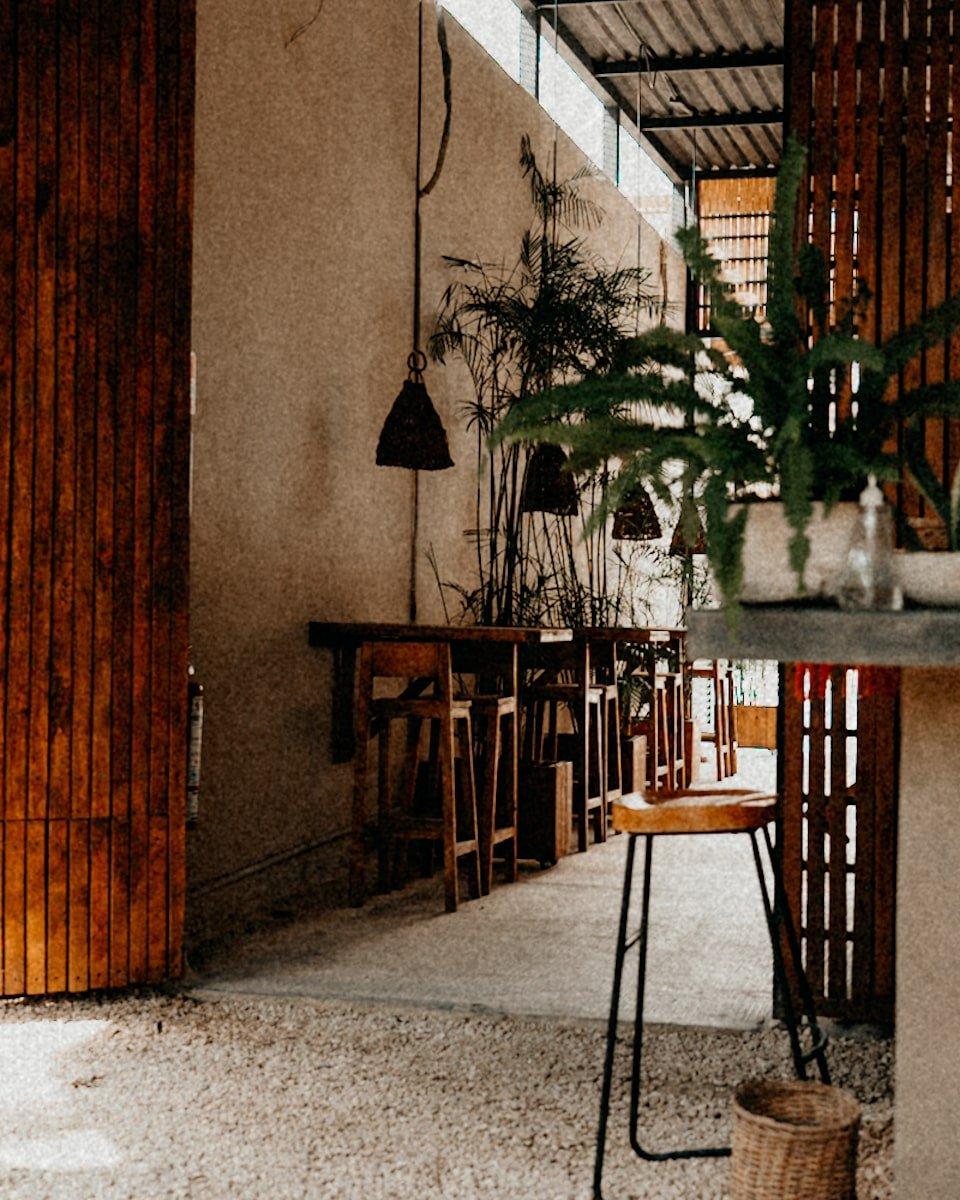 co-working space tulum @ botanica garden cafe
