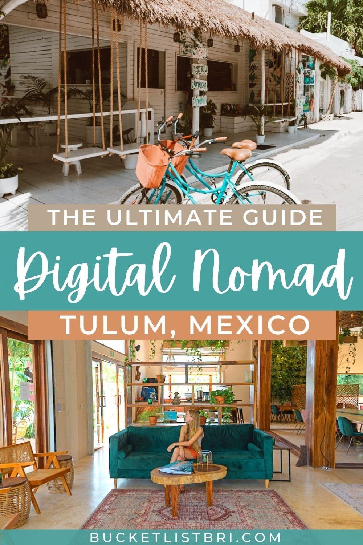 digital nomad tulum pin