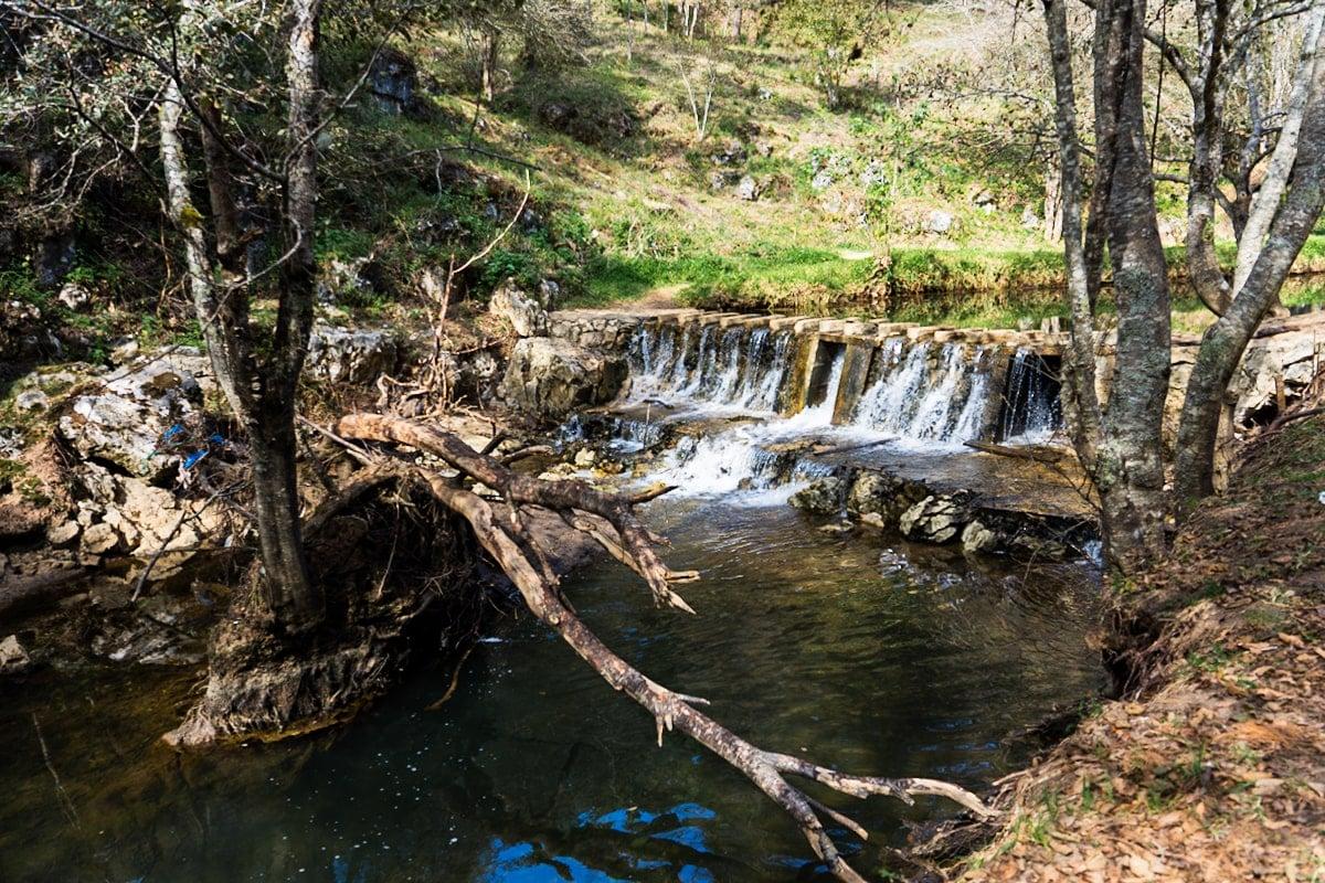 waterfall inside el arcotete ecotourism park