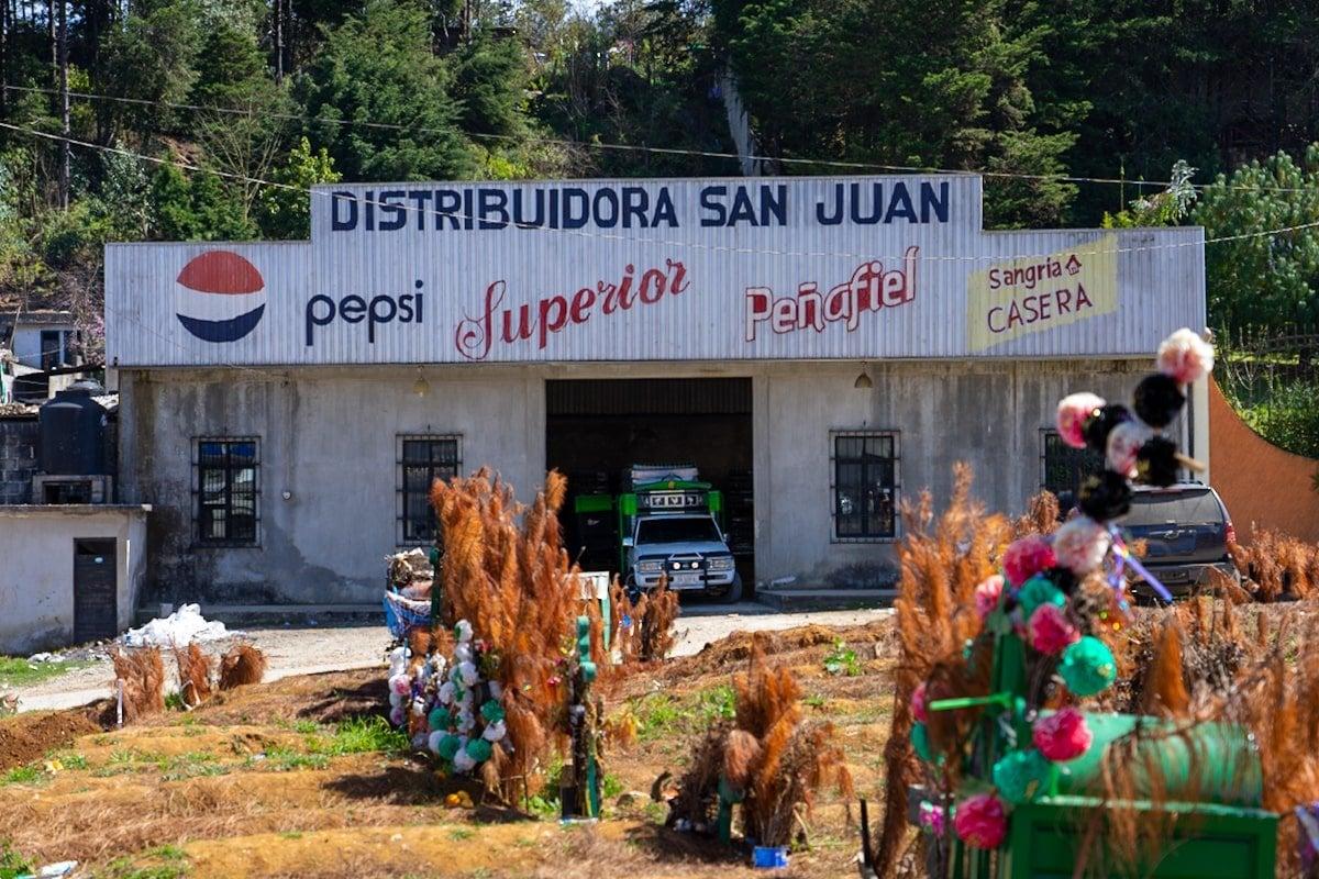chamula coca cola distribudor factory in chamula mexico
