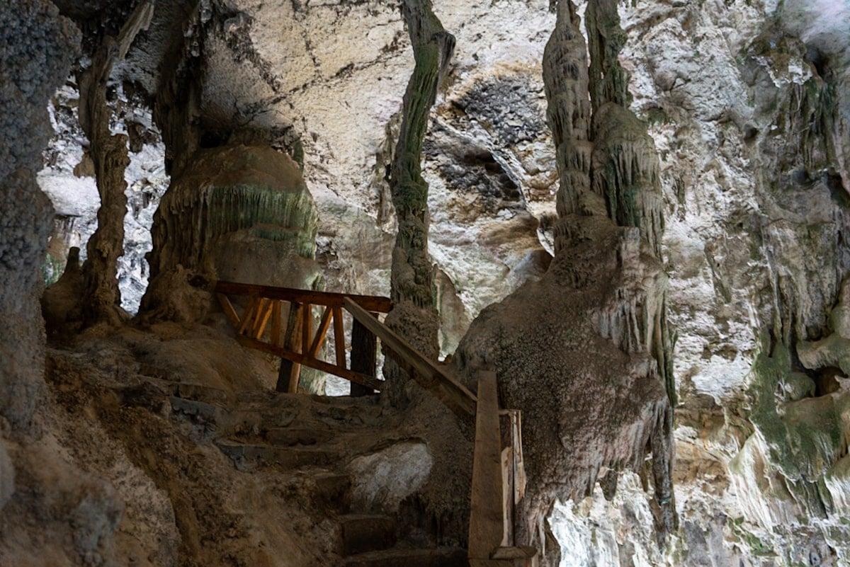 cave (grutas) inside El Arcotete Parque Ecoturistico