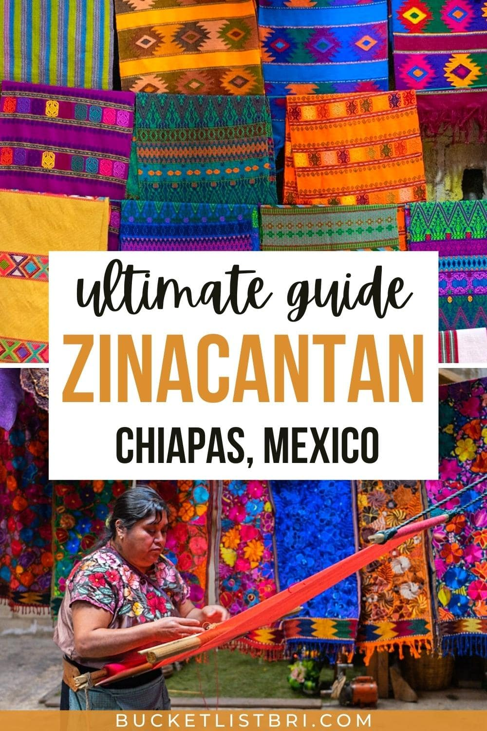 zinacantan mexico pinterest pin with text overlay