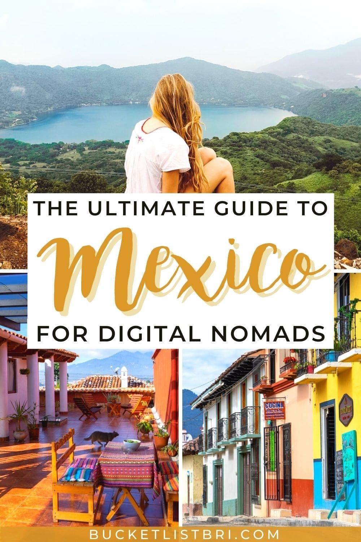 digital nomad mexico pin
