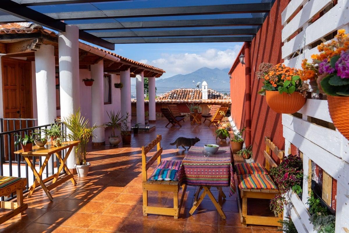 apartment balcony san cristobal mexico