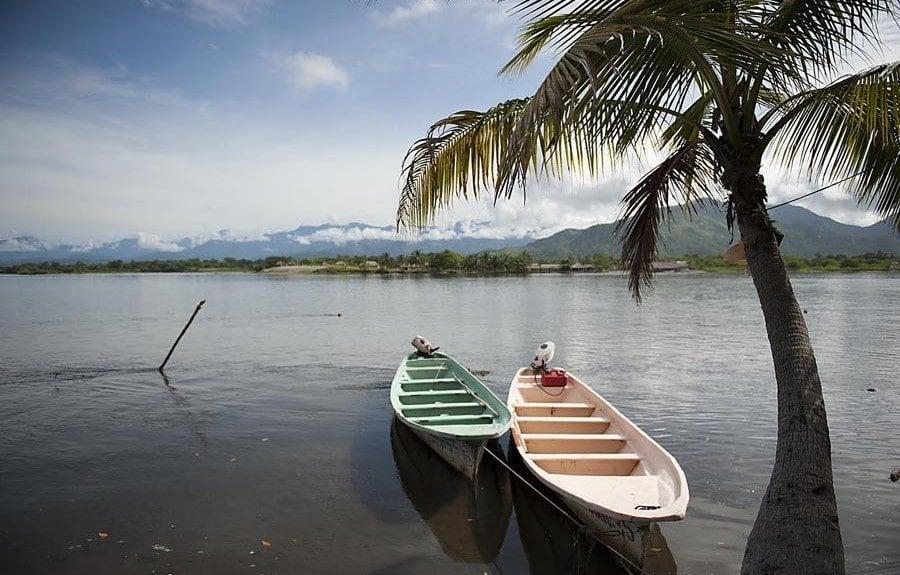 boats in bocas del cielo chiapas