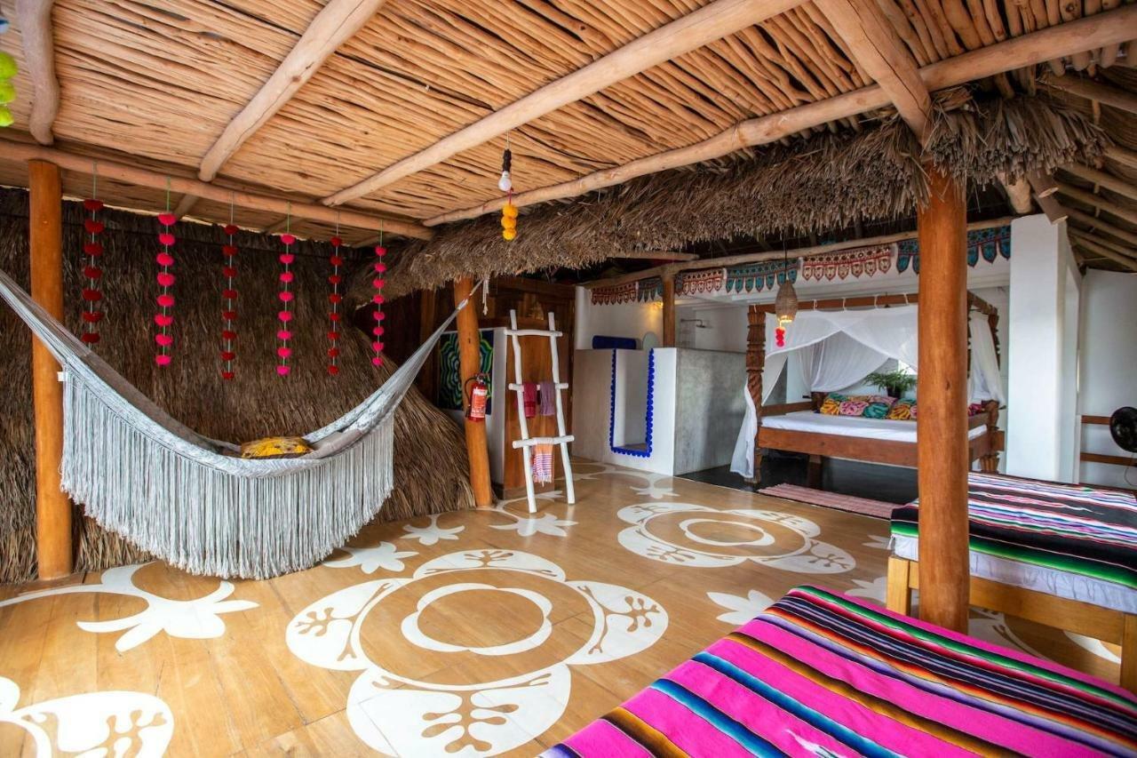 Casa Love hotel room in Sayulita
