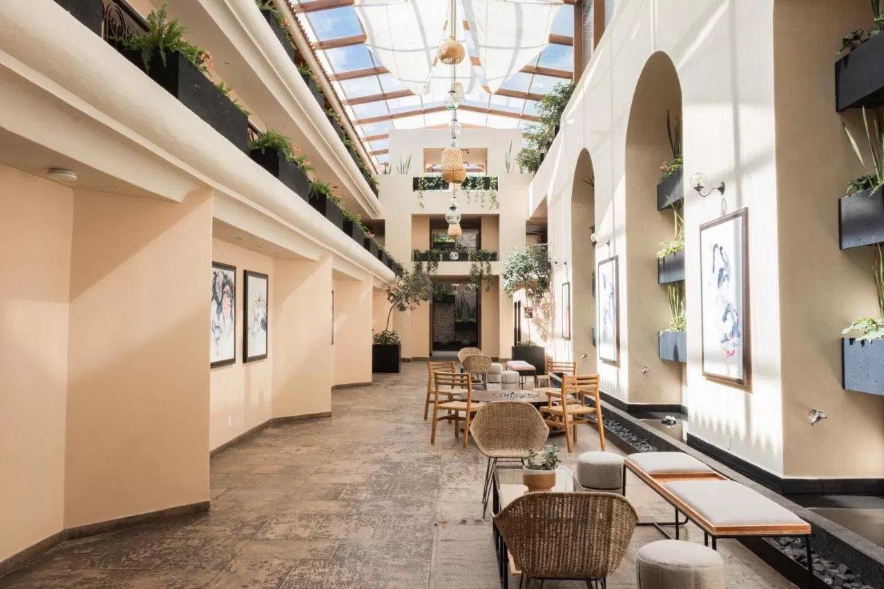 dining room casa del alma hotel boutique san cristobal