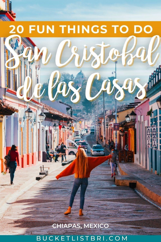 bucketlist bri on real de guadalupe in san cristobal de las casas with text overlay