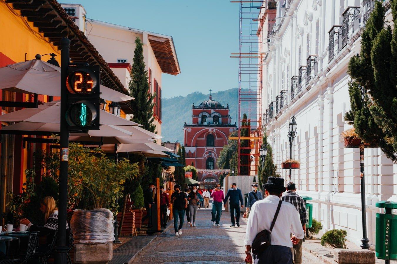 Arco del Carmen in San Cristobal de Las Casas Mexico
