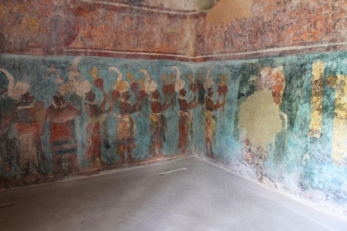 bonampak painted murals