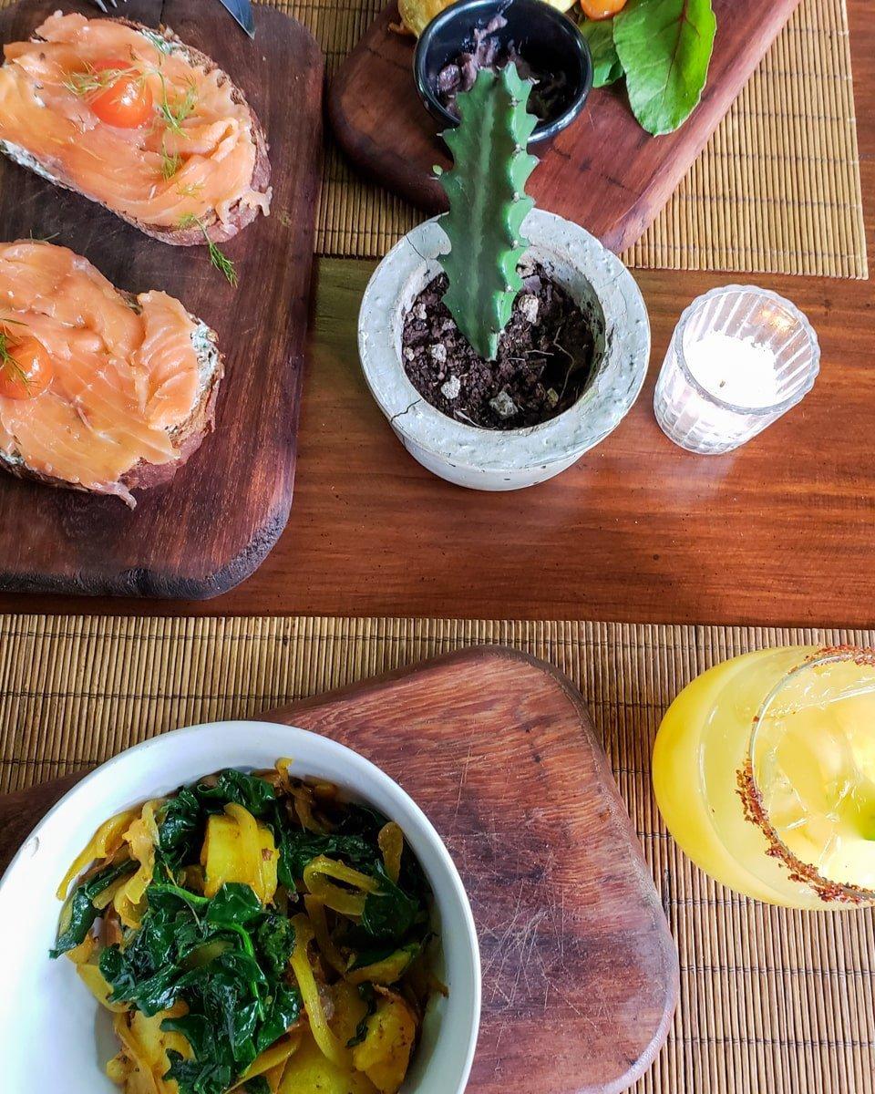 botanica garden cafe restaurant in tulum, mexico
