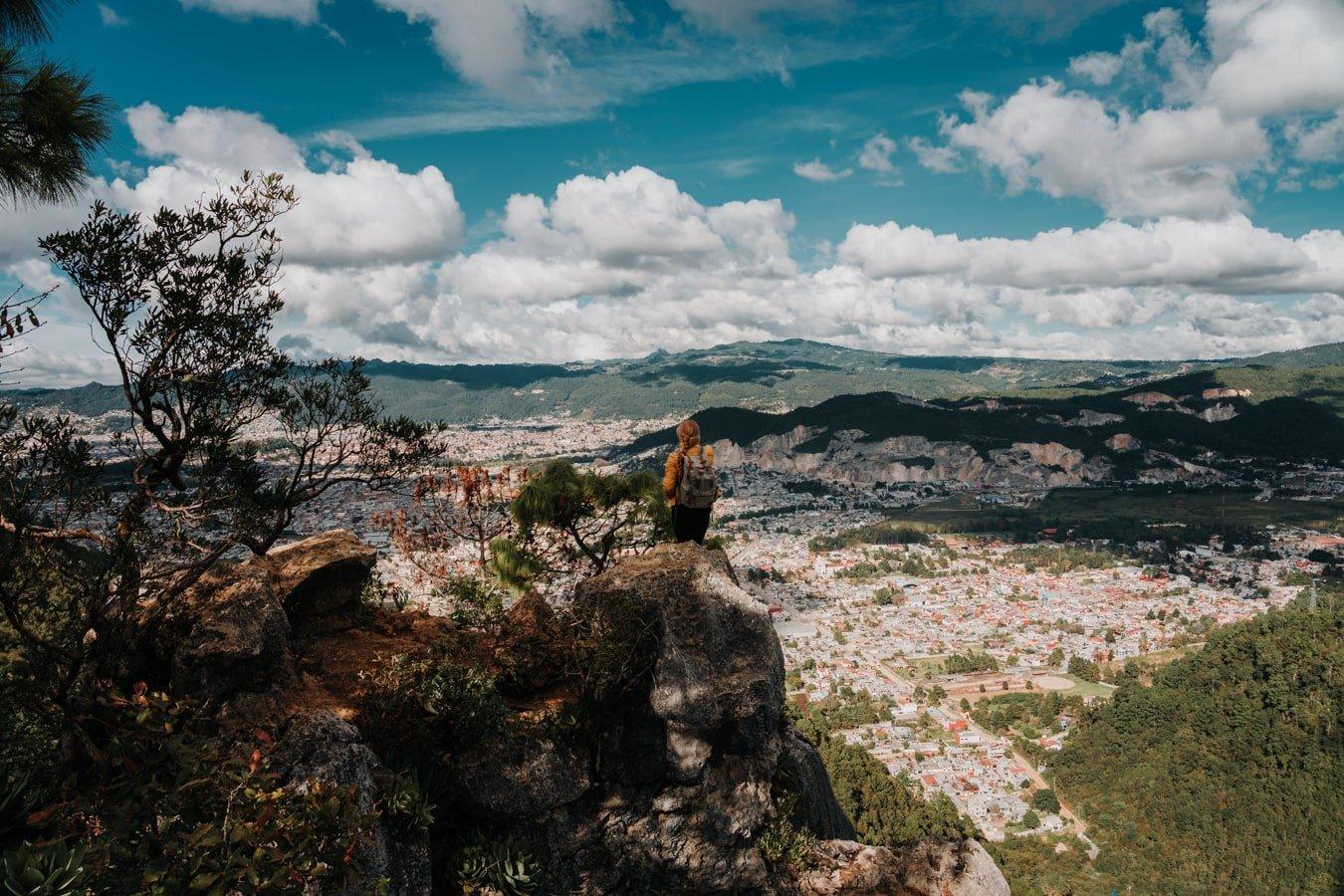 mirador at cerro don lauro viewpoint overlooking san cristobal de las casas