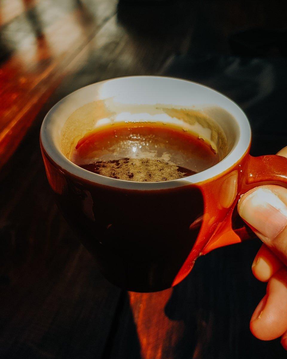 espresso with chiapaneco coffee