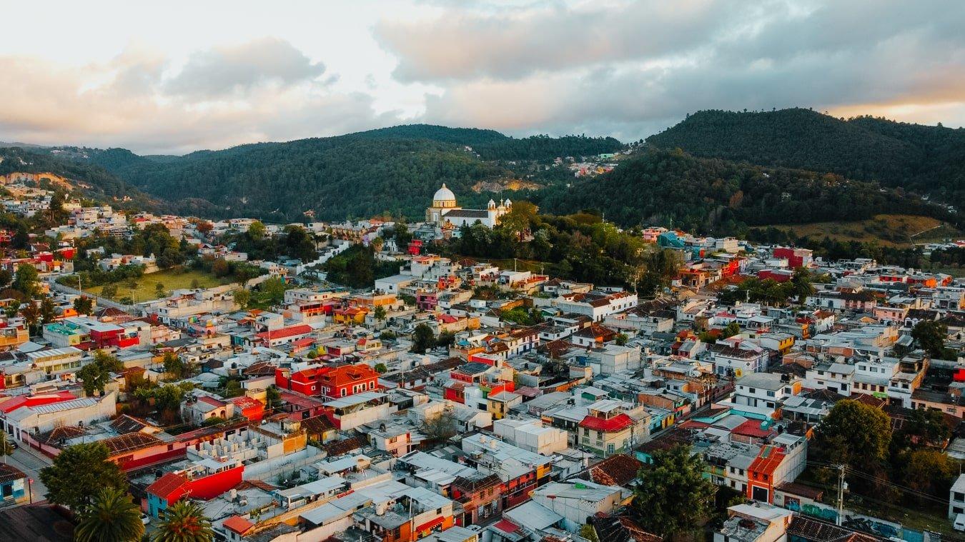 Guadalupe Church on top of a hill in San Cristobal de Las Casas