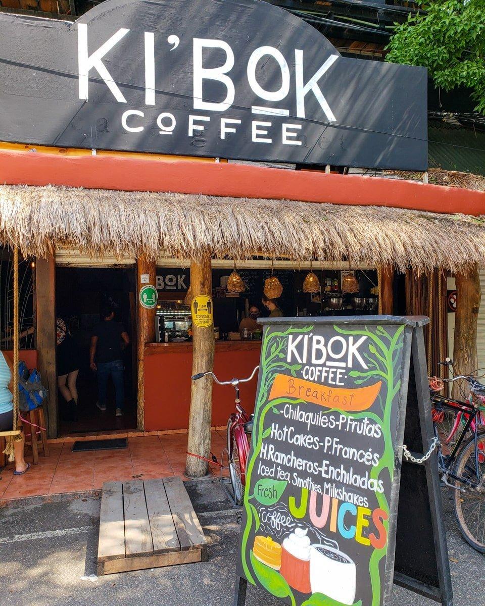 ki'bok coffee cafe in tulum