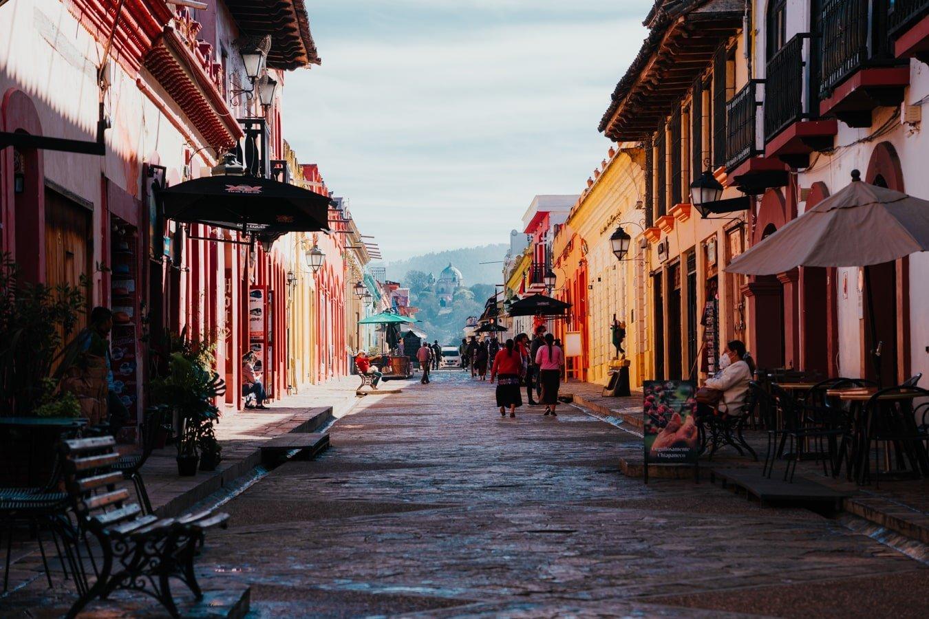 san cristobal de las casas real de guadalupe pedestrian street