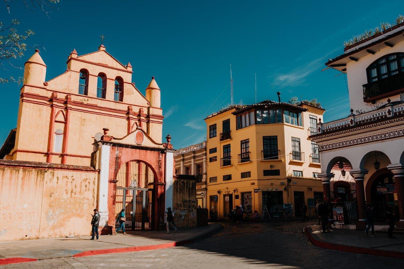 plaza 31 de marzo in san cristobal de las casas