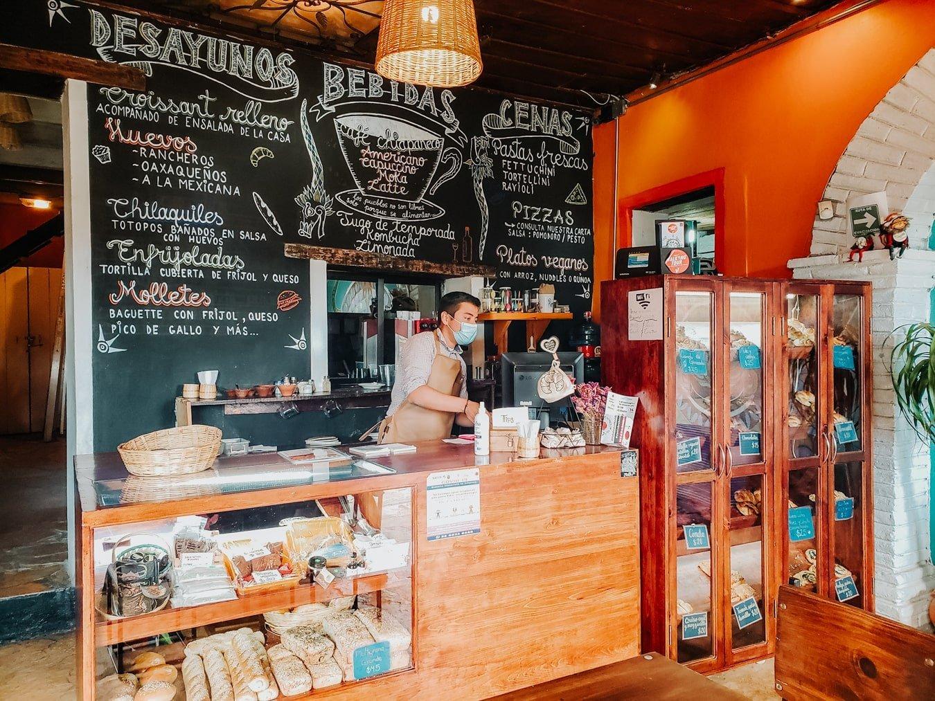 kukulpan vegetarian restaurant in san cristobal de las casas