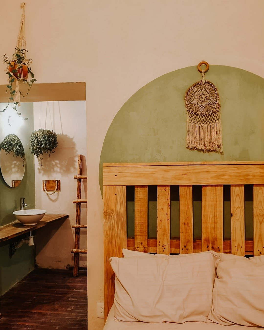 bedroom at co.404 coliving and coworking space in san cristobal de las casas
