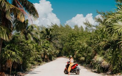Renting a Scooter in Tulum to Get Around